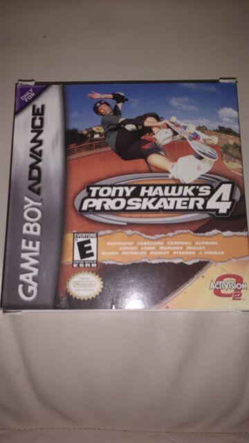 Tony Hawks Pro Skater 4 GBA Complete in Box
