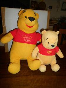 PELUCHES 2 Peluche Winnie the Pooh della disney