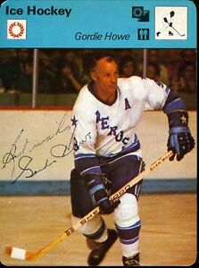 GORDIE-HOWE-SIGNED-X2-JSA-CERTED-1979-SPORTSCASTERS-CARD-AUTHENTIC-AUTOGRAPH