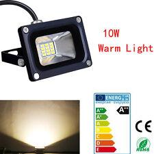 10W LED Spot Light Warm White Flood Light IP65 Outdoor Garden Lamp DC 12V VE