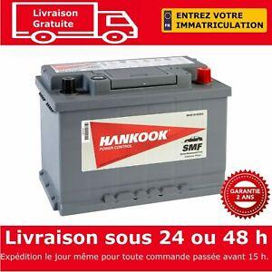 Hankook-57220-Batterie-de-Demarrage-Pour-Voiture-12V-72Ah-277-x-174-x-190mm