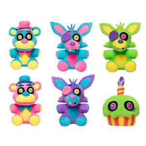 Koala Stuffed Animals Mini, Set Of 6 Five Nights At Freddy S 8 Black Light Plush Toy Stuffed Animal Doll Ebay