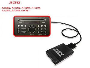USB-SD-AUX-adaptador-VW-Cambiador-de-CD-MP3-SUZUKI-SX4-SWIFT-GRAND-VITARA-PACR