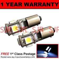 BA9s T4W 233 CANBUS SENZA ERRORI WHITE 5 LAMPADE LUCI POSIZIONE LED X2 HID