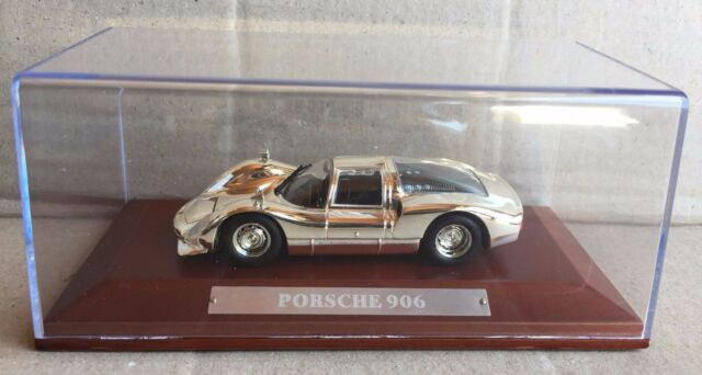Porsche 906 chrome 1:43 Atlas