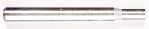 Droit Argent 200mm Long Neuf Alliage 28.6mm Vélo Tige de Selle