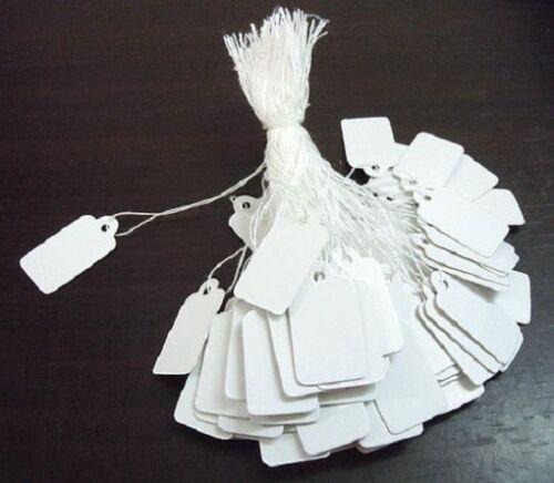 draht 24x15mm Verpackung Perlen BIJOUX LOT 100 Karten Etiketten weiß Preis mit