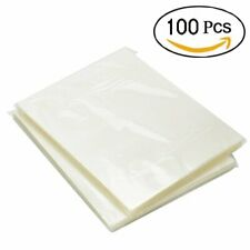 100 Pack Thermal Laminating Pouches 3 Mil Heat Seal A4 Letter Size 9x115 Sheets