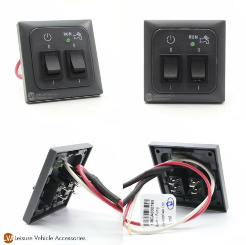 C-Line 12v Master Power Light Switch w// Water Pump Switch Caravan Horsebox VW T5