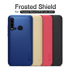 Pour-Huawei-P20-Lite-2019-Nillkin-Super-Frosted-Shield-Matte-Hard-Skin-Case-Cover