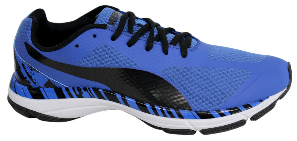 Puma Mobium Unify Hommes Trainers Up Running Chaussures bleu Lace Up Trainers 187540 01 D51 d3289e