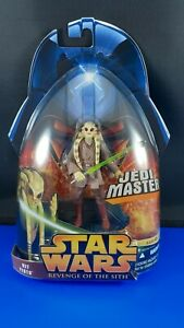 Star Wars Revenge Of The Sith Jedi Master Kit Fisto 22 Action Figure Nip Ebay