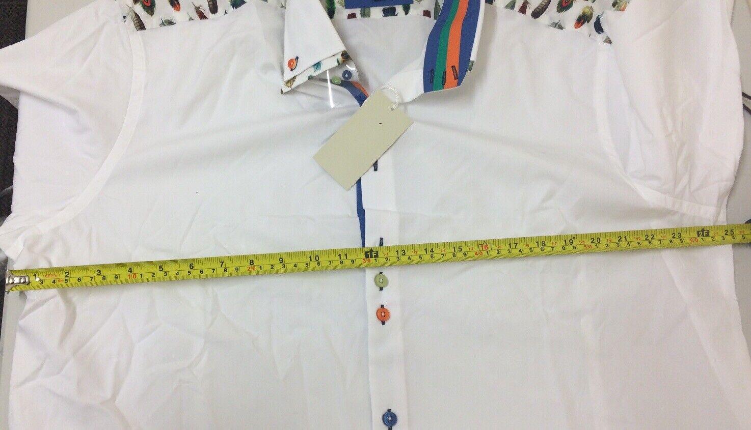 CURTIS SLIM FIT LIMITED EDITION maglietta collo collo collo alto Bracciale singolo 2XL RRP  E123 f8de37