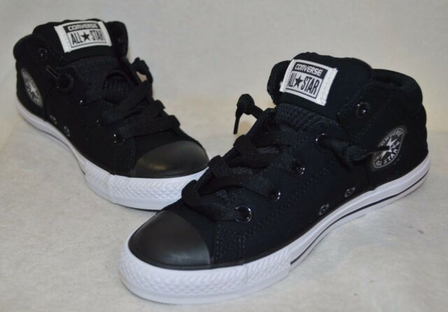 b93567eb8346ff Converse Boy s CT Axel Mid Top Black White Sneaker - Assorted Sizes NWB  642849F