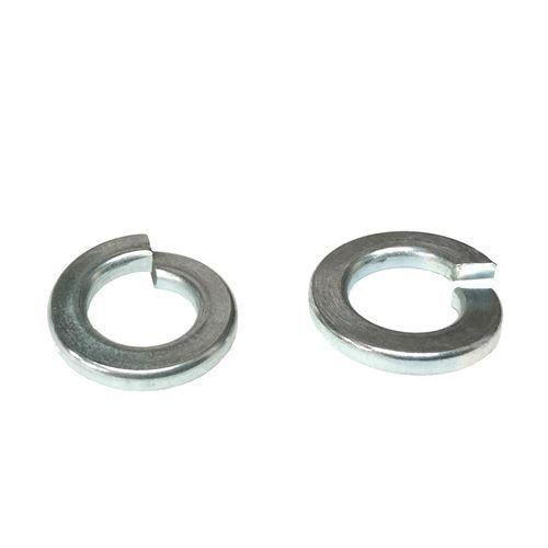 """10 7//8 /"""" Medium Split Lock Washers Zinc Clear"""