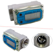 Turbine Digital Diesel Fuel Flow Meter Oval Gear Flow Gauge Bsptnpt 1 200lmin