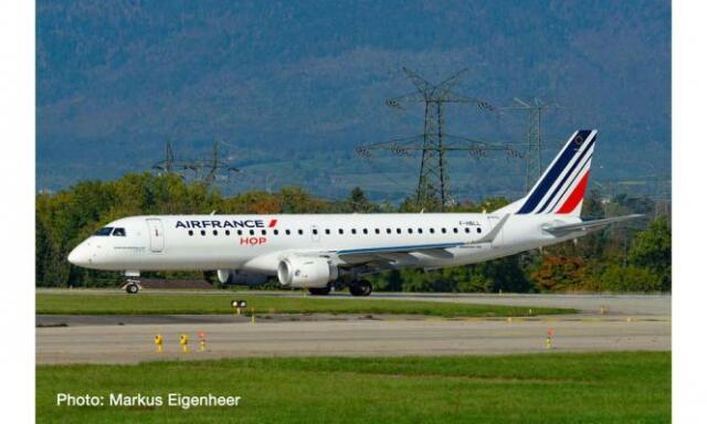 Herpa Wings 1:500  Embraer E 190  Air France HOP F-HBLL  534208 Modellairport500
