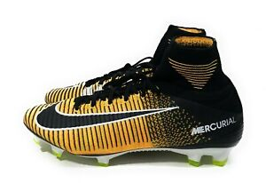 new styles fd291 a4472 Nike Mercurial Superfly V DF FG Mens Soccer Cleats Laser Orange Size ...