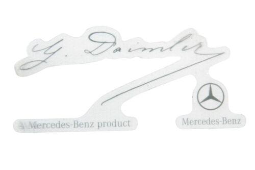 New Mercedes 2003-2015 Windshield Sticker *0045847338