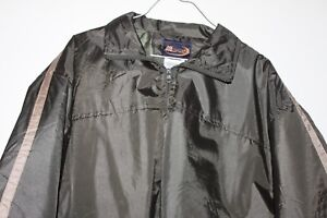 M-Sport-Men-039-s-XL-size-Golf-Lightweight-Windbreaker-Front-Zip-Jacket-Brown-color