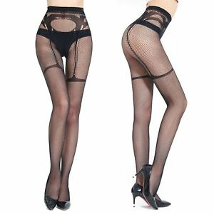 5a356e8bcced9 Image is loading Sexy-lingerie-and-exotic-Tights-fishnet-Stockings -Bodystocking-