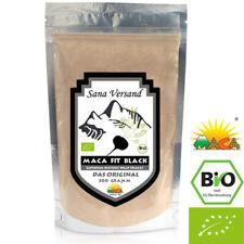 100% BIO Maca Black Pulver (500g) Original aus Peru. Reines Maca Wurzel Pulver