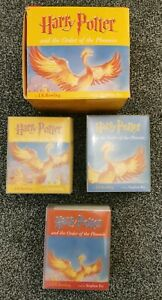 Harry-Potter-amp-The-Order-Of-The-Phoenix-Audio-Book-22-Cassette-Tapes-Stephen-Fry