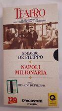 CS2  Film VHS Napoli milionaria Eduardo De Filippo Video Rai
