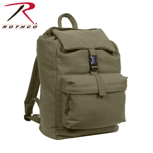 Rothco 2169 2369 2670 2370 Canvas Daypack