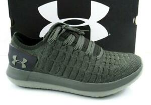 3566b9e7 Details about Men's Under Armour Slingride 2 Running Shoes Sneakers Lace up  Green Size 10