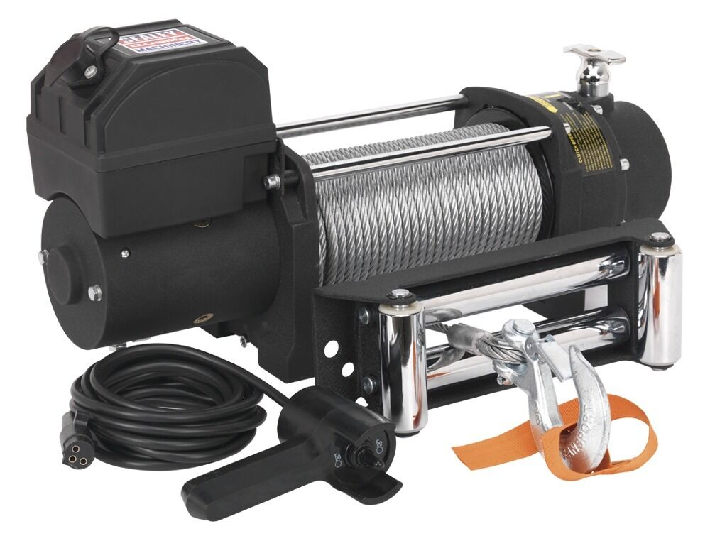 Sealey Self Recovery Winch 2720kg Line Pull 12V SRW2720