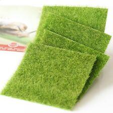 Artificial Grass Fake Lawn Miniature Dollhouse Home Garden Ornament