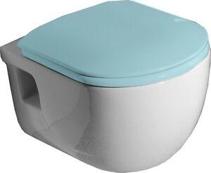 Wand Wc Wassersparendes Hange Wc Brilla Toilette Randlos Ohne Sitz