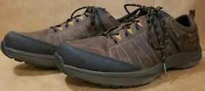 Dunham-Men-s-US-Size-16-4E-Seth-Waterproof-Lace-Up-Oxford-Brown-Shoes