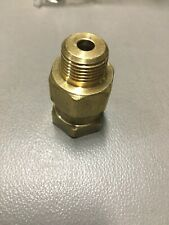 3000psi JE Adams Pressure Washer Hose  3//8 MPT x 1//4 FPT Brass Swivel Coupler