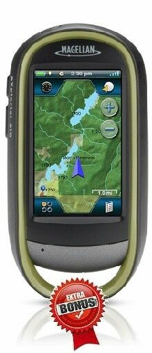 Magellan Explorist 610 GPS CANADA / USA (NA) ATV SNOWMOBILE FISHING HOTSPOT MAPS
