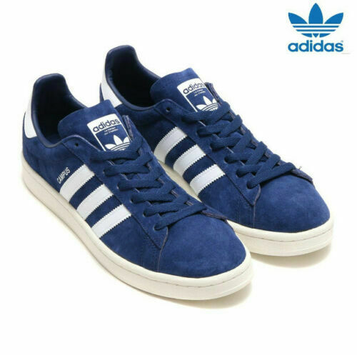 12a19f957f86b ADIDAS ORIGINALS CAMPUS SUEDE SNEAKERS MEN SHOES DARK blueE BZ0086 SIZE  10.5 NEW