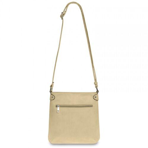 CASPAR Damen Tasche MELINA Handtasche Umhänge Tasche Schultertasche TS922 NEU