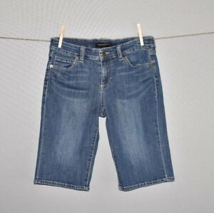 BANANA-REPUBLIC-58-Medium-Wash-Denim-Jean-Bermuda-Short-Size-26