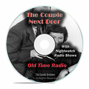 Details about The Couple Next Door, 1,022 Classic Old Time Radio Drama  Shows, OTR mp3 DVD G25
