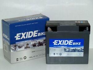 EXIDE Gel Motorrad Batterie  12V 19Ah  für BMW u. a.