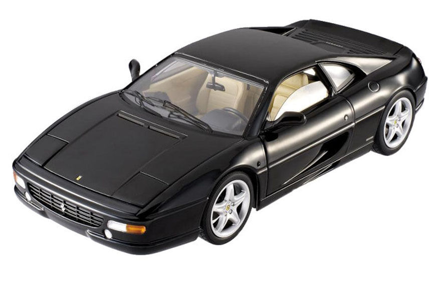 Hot Wheels Elite X5478 1 18 Ferrari F355 Berlinetta Diecast Voiture Modèle Noir