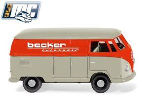 Wiking-H0-078857-VW-T1-Kastenwagen-034-Becker-Autoradio-034-NEU-OVP