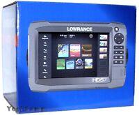 Lowrance Hds-7 Gen3 Chirp Gps Fishfinder Chartplotter + Transducer + Usa Insight