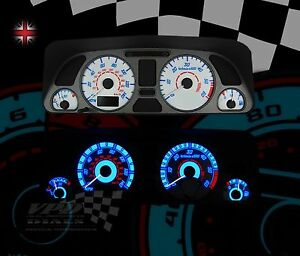 peugeot 306 hdi interior speedo instrument dash clock lighting