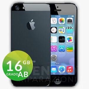 APPLE-IPHONE-5-16GB-NERO-ARDESIA-BLACK-CON-ACCESSORI-E-GARANZIA-CORRIERE