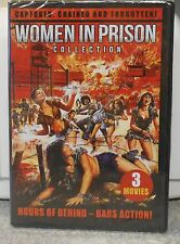 WOMEN IN PRISON COLLECTION (DVD 2013) 3 RARE EROTIC HORROR FILMS BRAND NEW