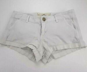 Hollister Pantalones Cortos Rosa Brillante Blanco Simbolo Hollister Para Mujer Talla 0 Cintura 24 Ebay