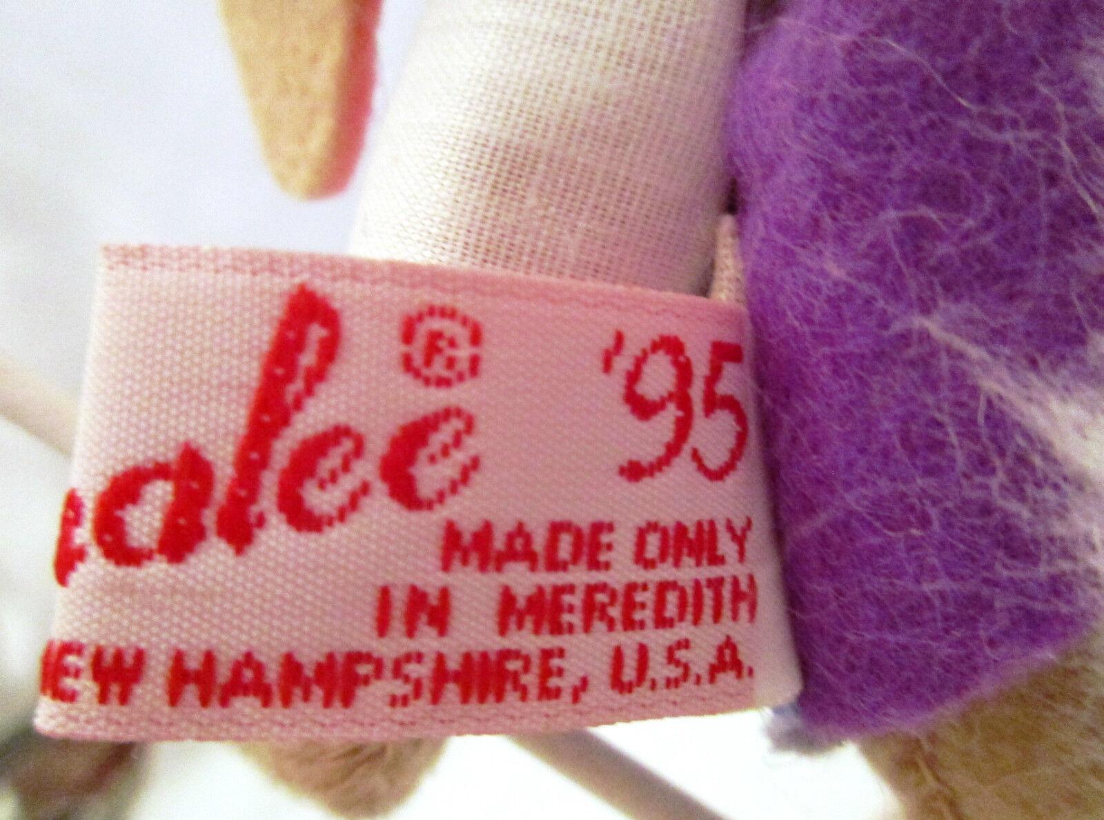 ANNA LEE HASE bekleidet OSTERHASE Hasenfrau Künster Design Häsin Häsin Häsin Stoff Figur 3083da