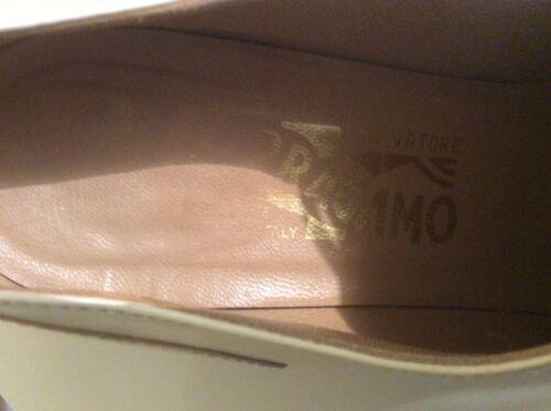 crème Beige veter en 5 spectator Oxford maat Ferragamo 2a Salvatore 6 schoenen Ybfy6v7g